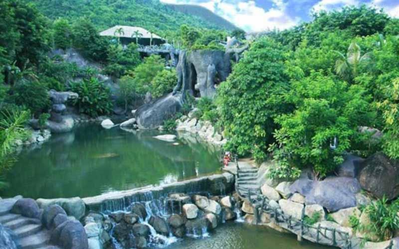 Than Tai Hot Spring Park Da Nang