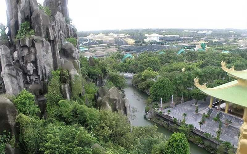Marble mountain in Da Nang